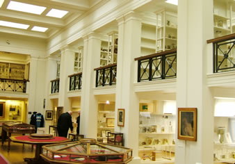 View of Pathology Museum within William Playfair's Surgeons' Hall