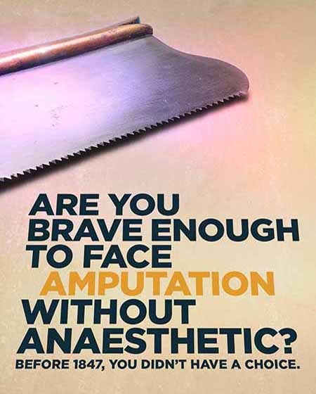 Anaesthetic ad